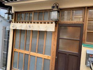 高柿の鮨_入口